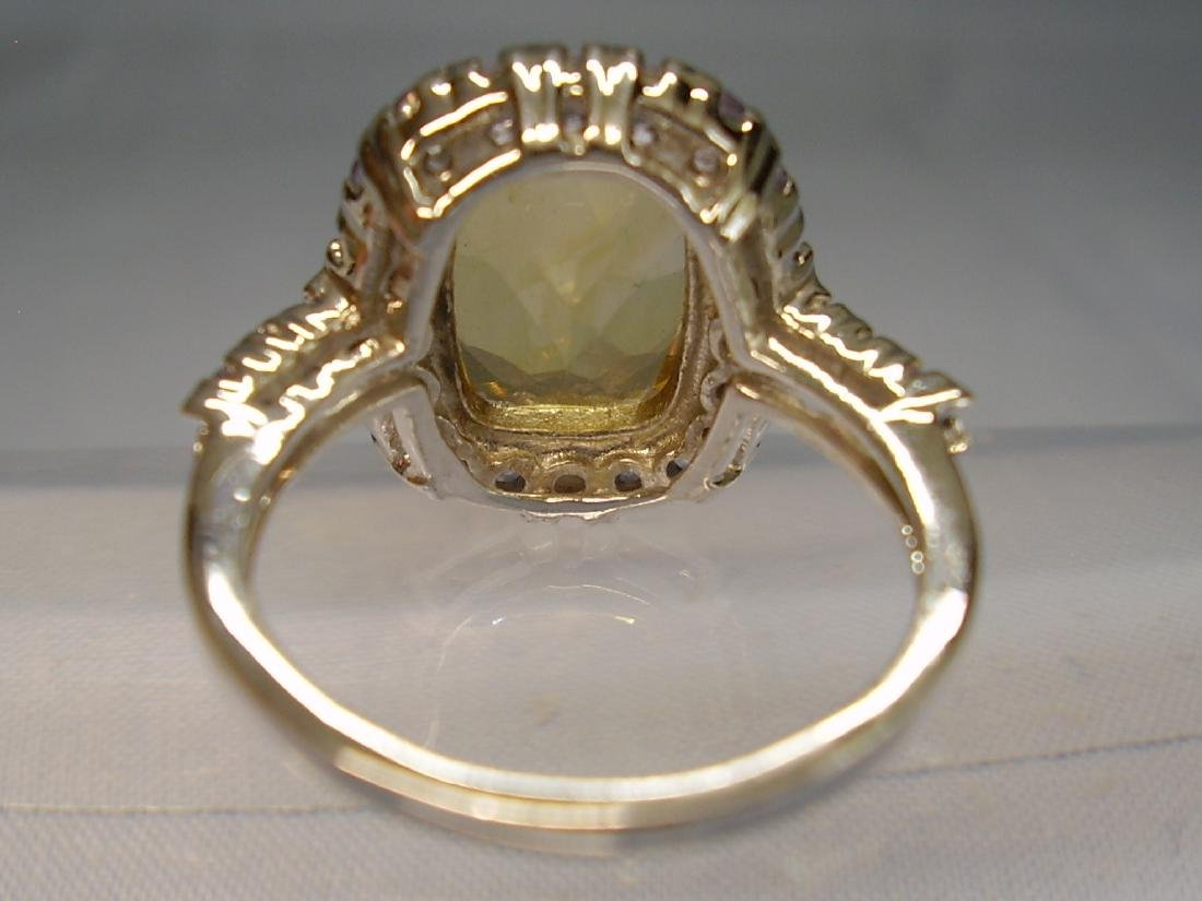 Cocktail-Ring Tanzanites Citrine - 5