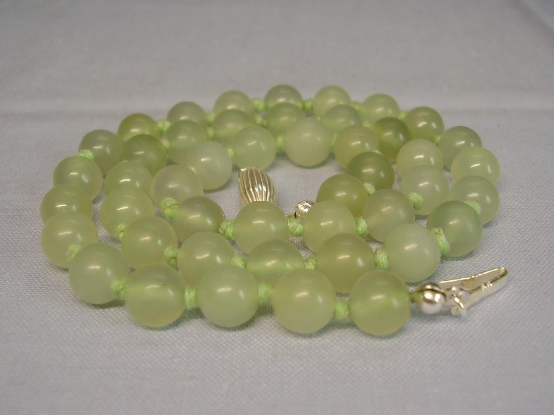 Jade Necklace lime-green