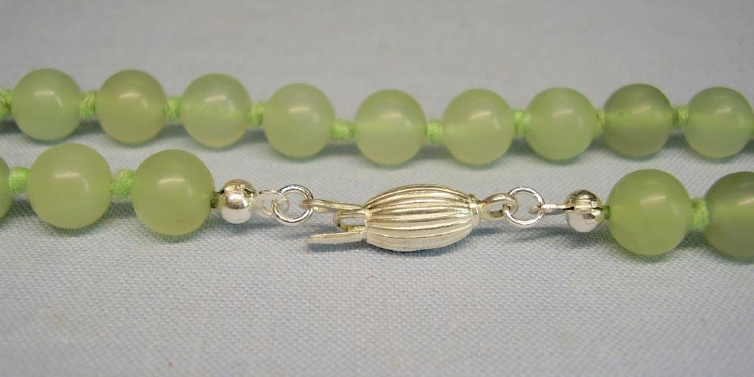 Jade Necklace lime-green - 3