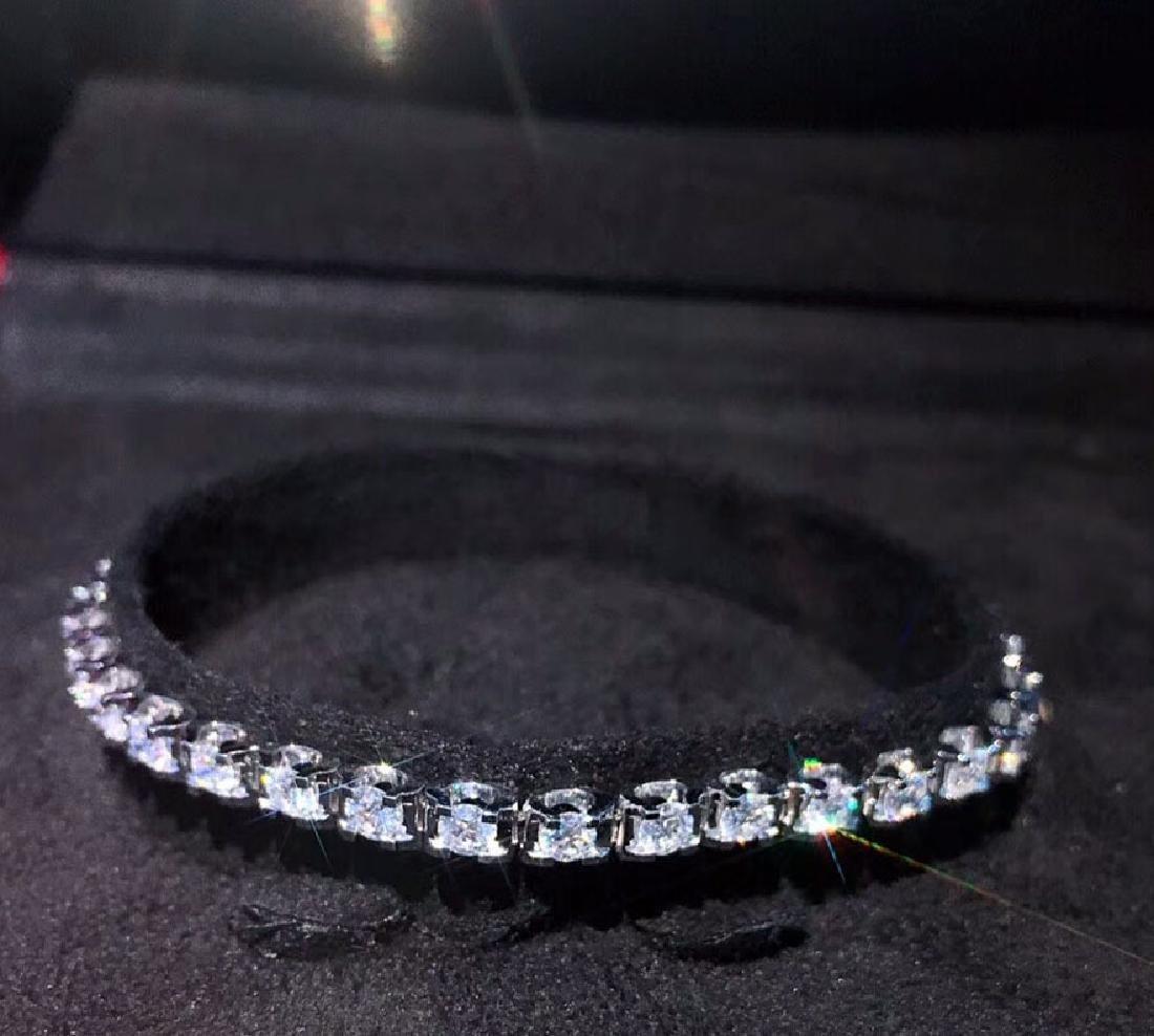 2.93 CTW VS Diamond Bracelets 18K