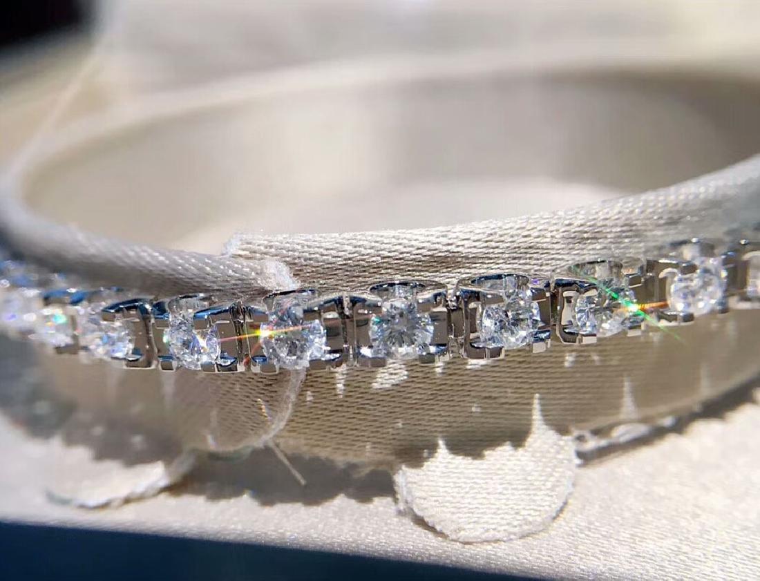 2.93 CTW VS Diamond Bracelets 18K - 3