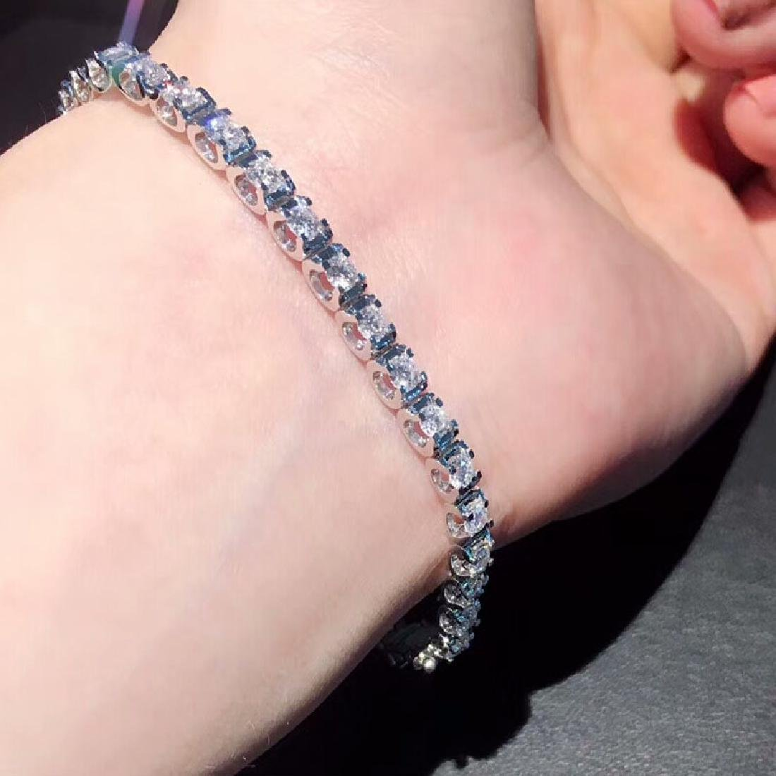 2.93 CTW VS Diamond Bracelets 18K - 5
