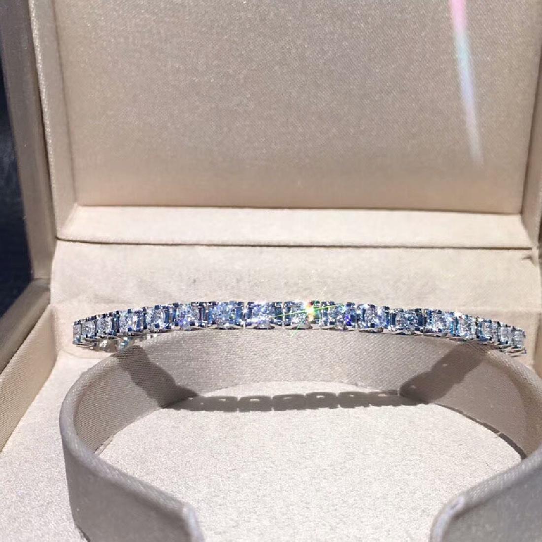 2.93 CTW VS Diamond Bracelets 18K - 6