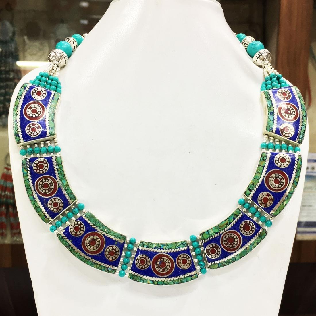 Tourmaline quartz Silver handmade butterfly Necklace
