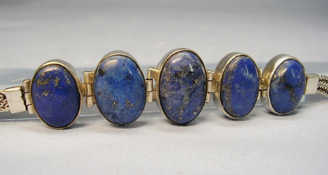 Lapislazuli Silver Bracelet