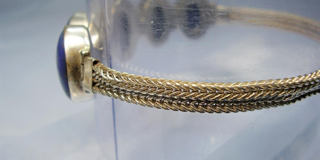 Lapislazuli Silver Bracelet - 2
