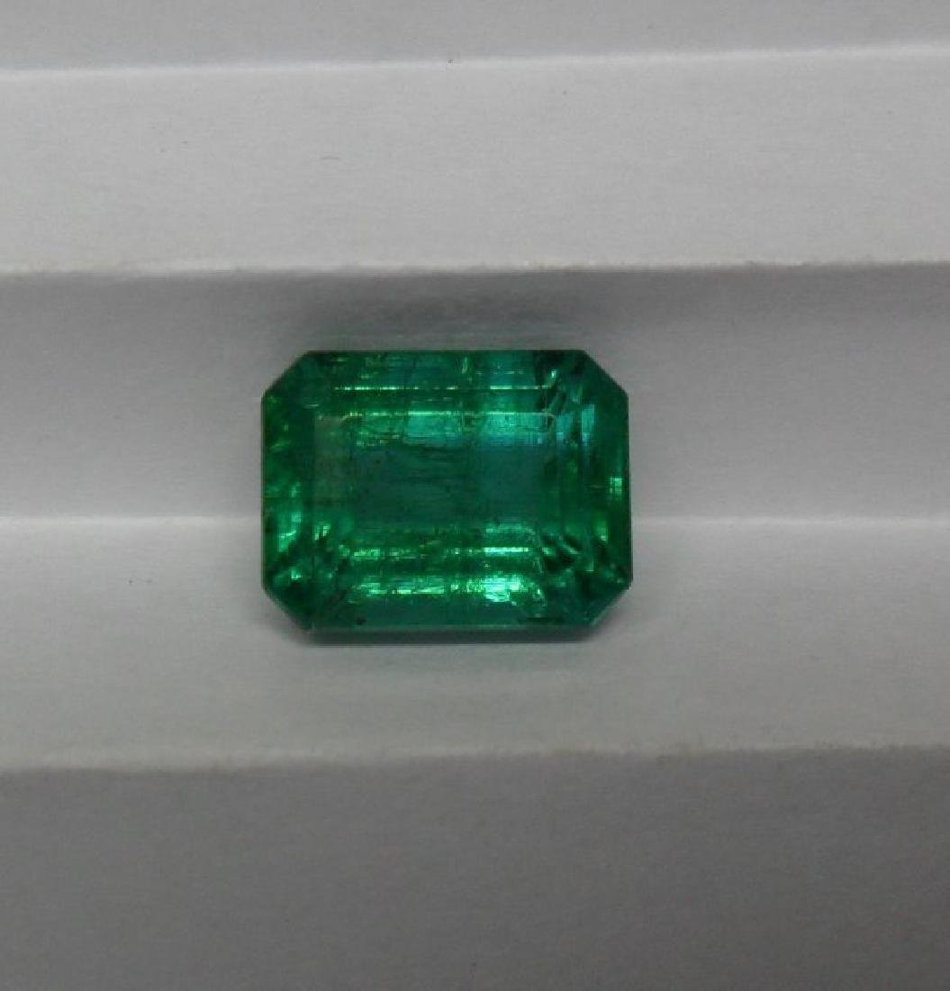 LOOSE STONE 4.90 CTS NATURAL EMERALD - 4