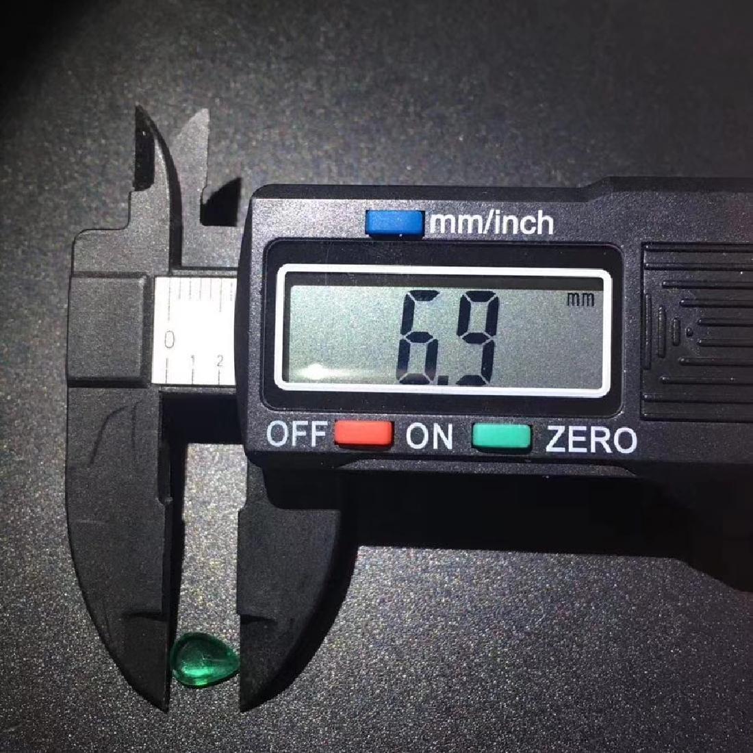 0.59 ct Emerald 4.9*6.9*2.5 mm Pear Cut - 6