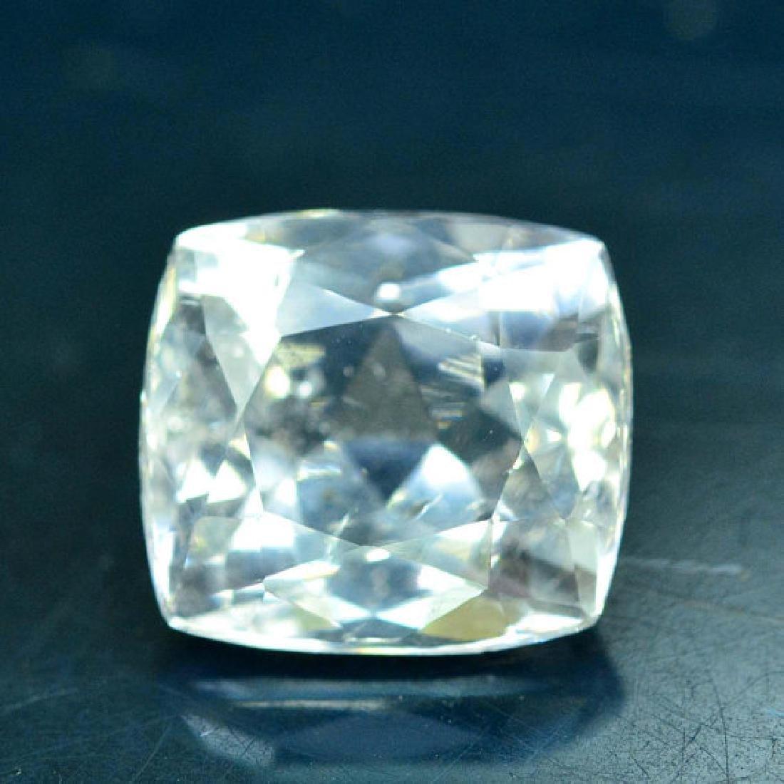 3.55 carats light peach pink Natural Morganite Loose - 3