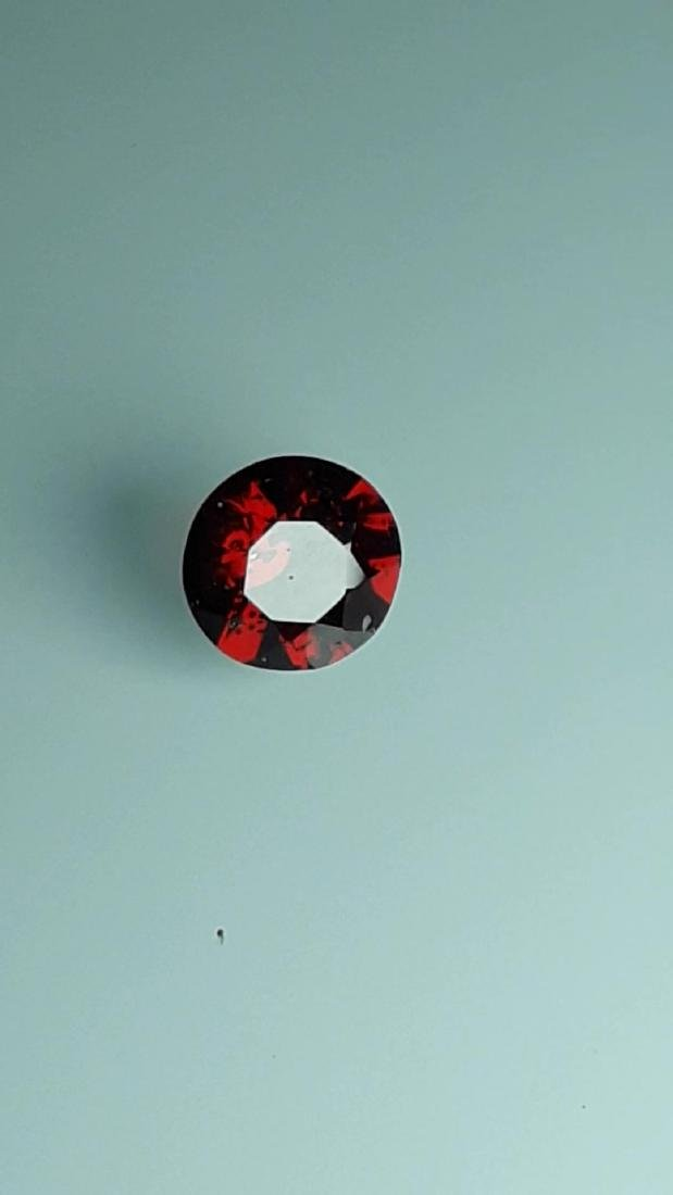 1.7ct Untreated Vivid Madagascar Red Garnet | VVS