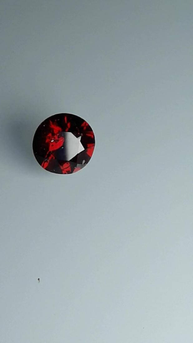 1.7ct Untreated Vivid Madagascar Red Garnet | VVS - 4