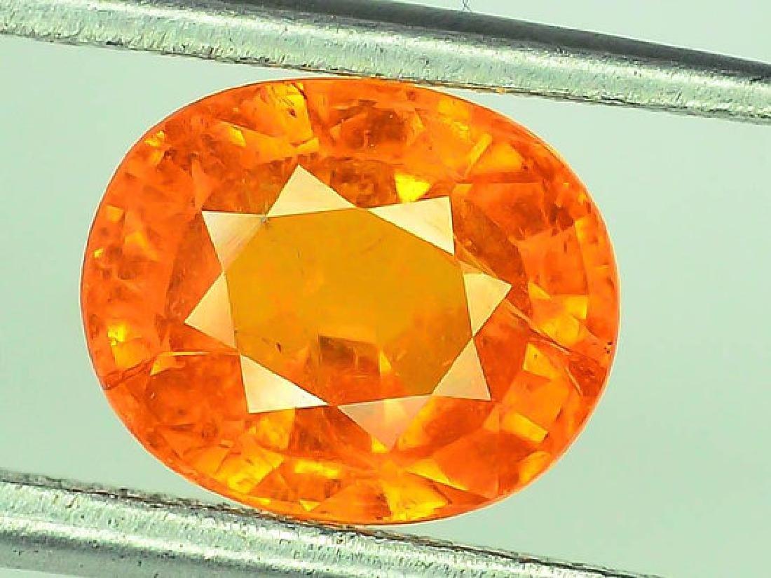 2.70 cts Fanta Color Natural Spessartite Garnet - 2