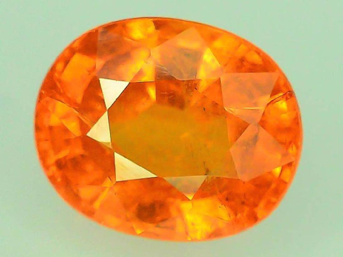 2.70 cts Fanta Color Natural Spessartite Garnet - 4