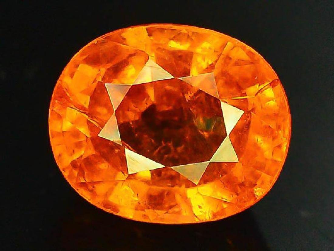 2.70 cts Fanta Color Natural Spessartite Garnet - 6