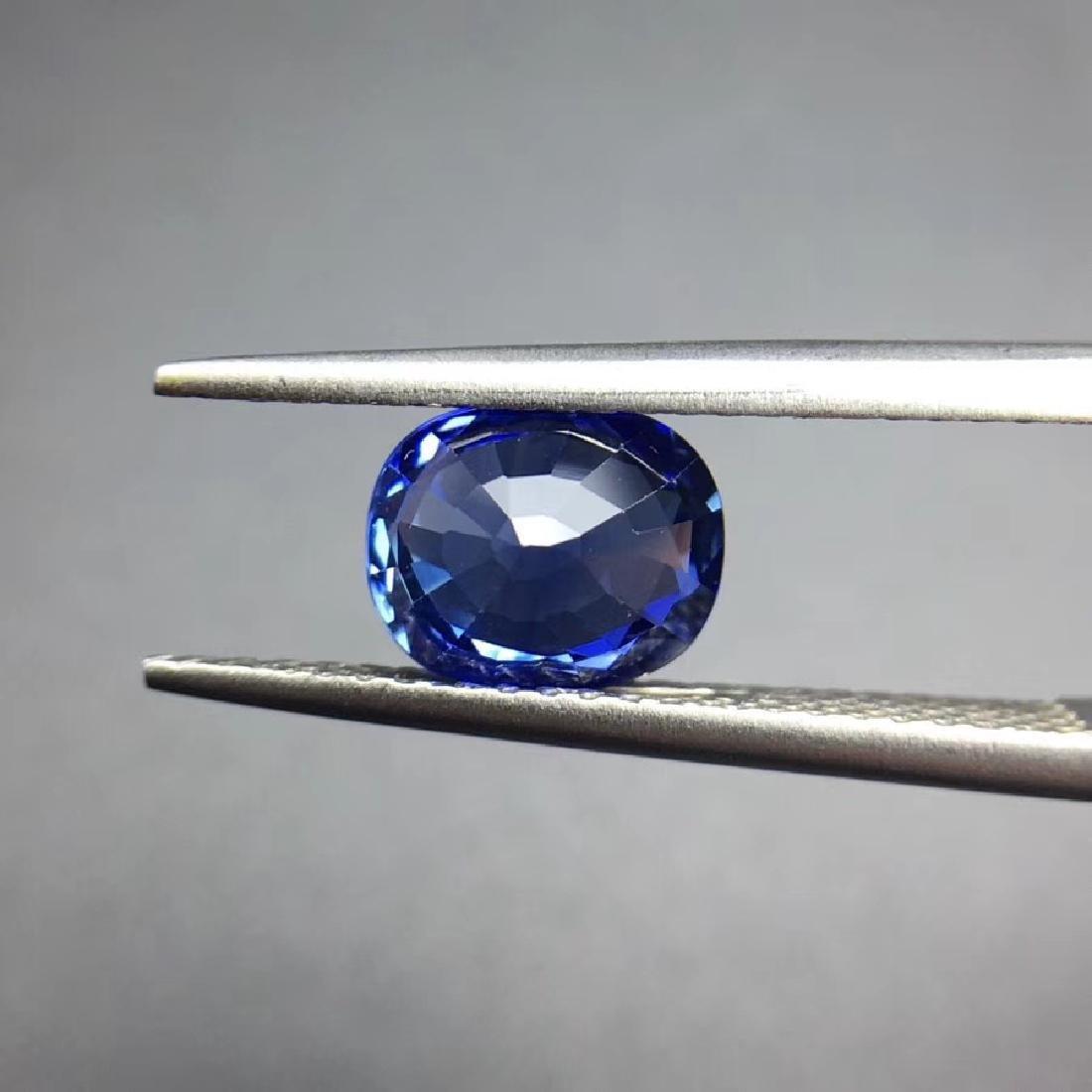 1.85 ct Sapphire 7.4*6.0*4.4 mm Oval Cut - 4