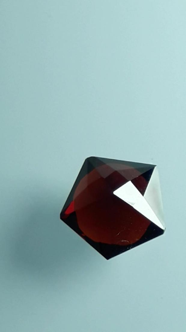 2.6ct Untreated Vivid Madagascar Red Garnet | VVS - 2