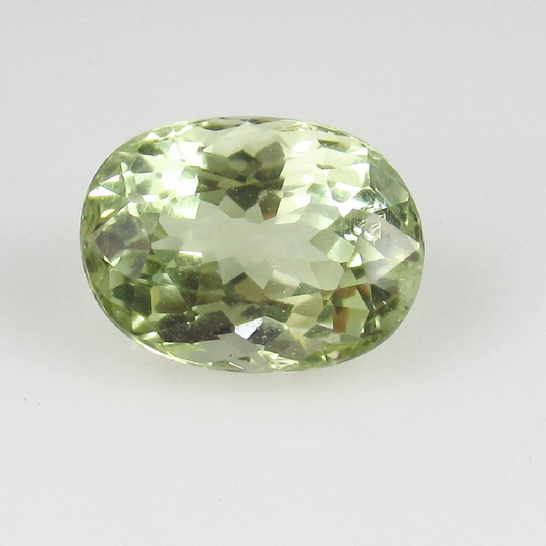 2.63 Ct Genuine Loose Exclusive Rich Luster Green Beryl - 3