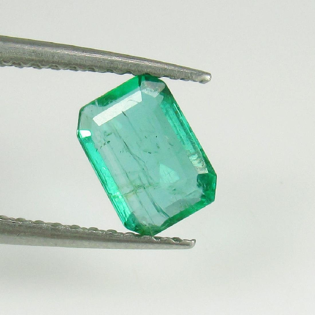 0.75 Ctw Natural Loose Emerald Octagon Top Quality