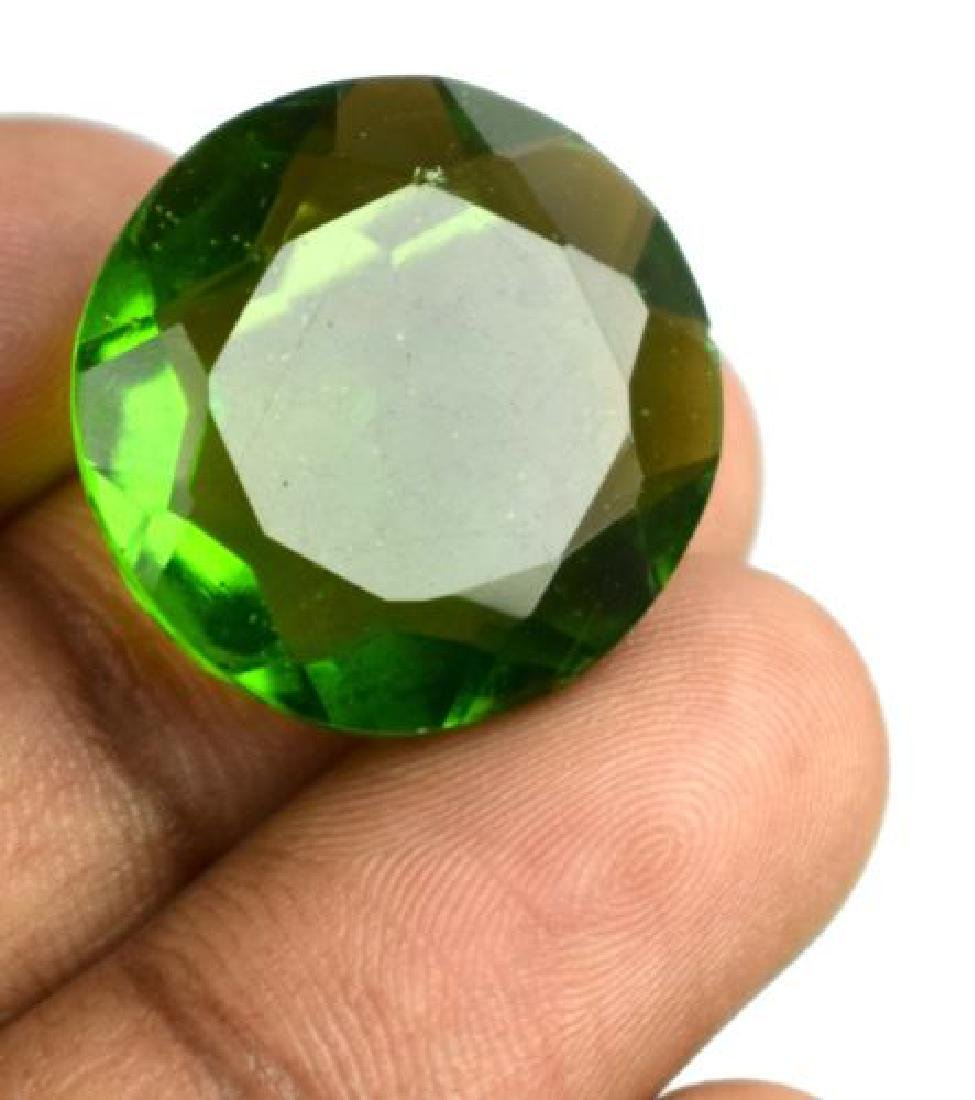 No reserve 26.70 Ct Olive Green Peridot IGL Certified