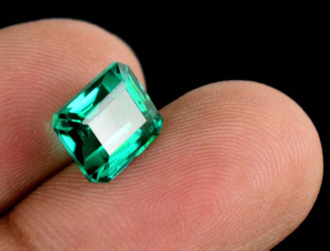 4.80 Ct Natural Untreated Green Demantoid Garnet IGL