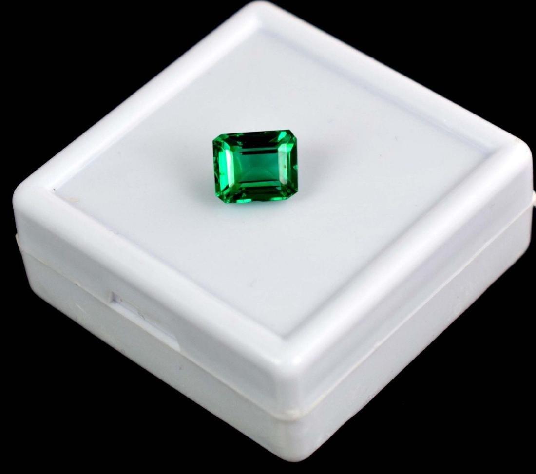 4.80 Ct Natural Untreated Green Demantoid Garnet IGL - 2