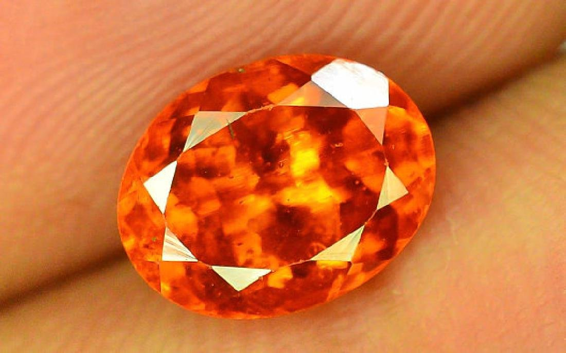 2.80 cts Fanta Color Natural Spessartite Garnet - 10