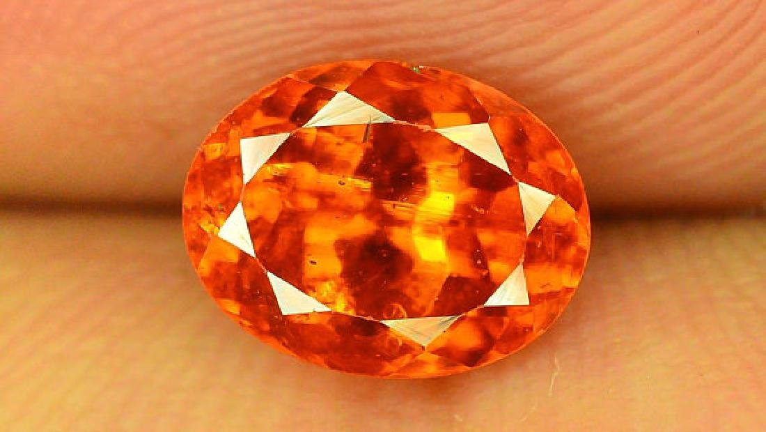 2.80 cts Fanta Color Natural Spessartite Garnet