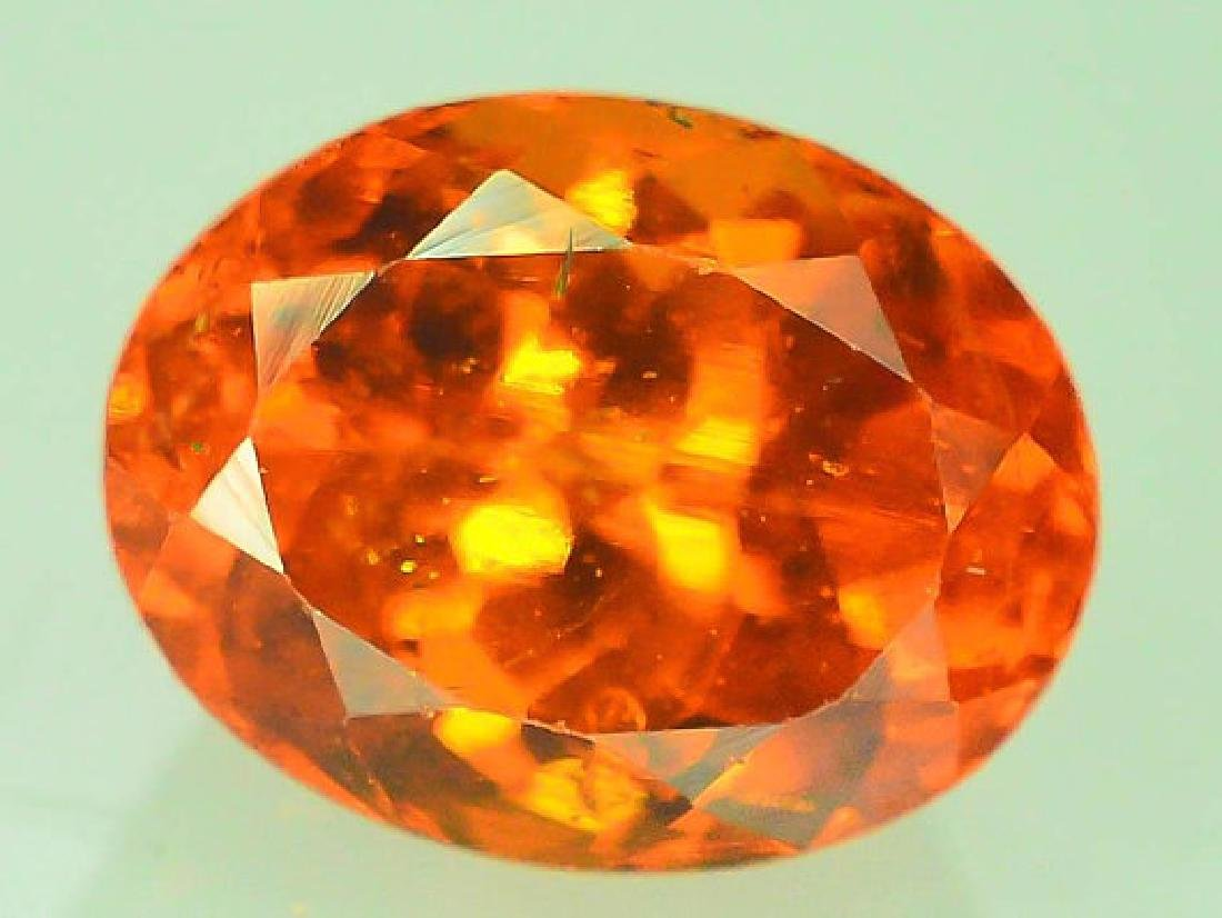 2.80 cts Fanta Color Natural Spessartite Garnet - 4
