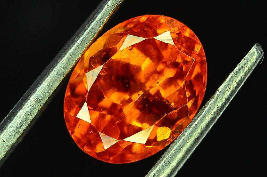 2.80 cts Fanta Color Natural Spessartite Garnet - 6