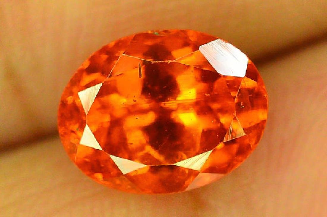 2.80 cts Fanta Color Natural Spessartite Garnet - 7