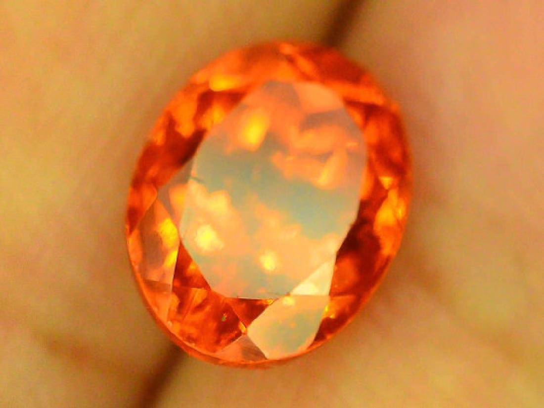 2.80 cts Fanta Color Natural Spessartite Garnet - 9