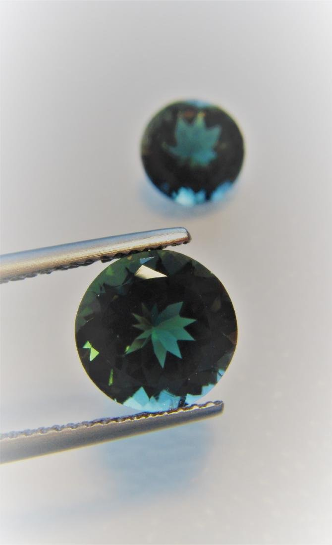 Tourmaline Pair - 5.35 ct - 8