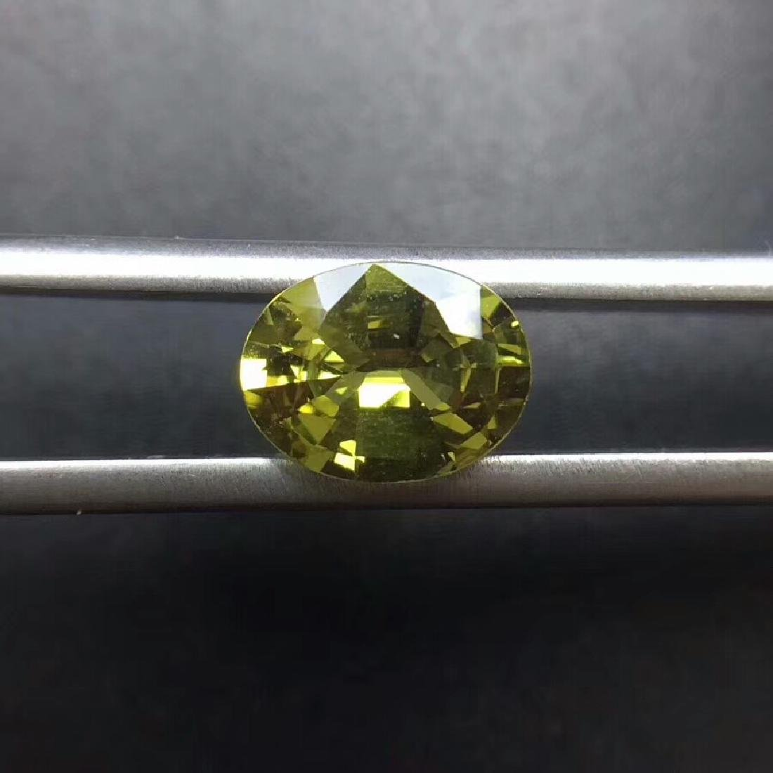 1.75 ct Chrysoberyl 8.8*6.7*4.0 mm Oval Cut