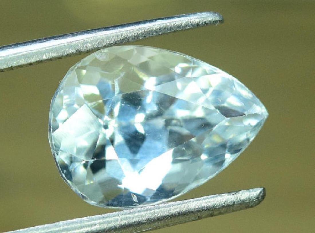 3.35 cts Untreated Aquamarine Gemstone from Pakistan