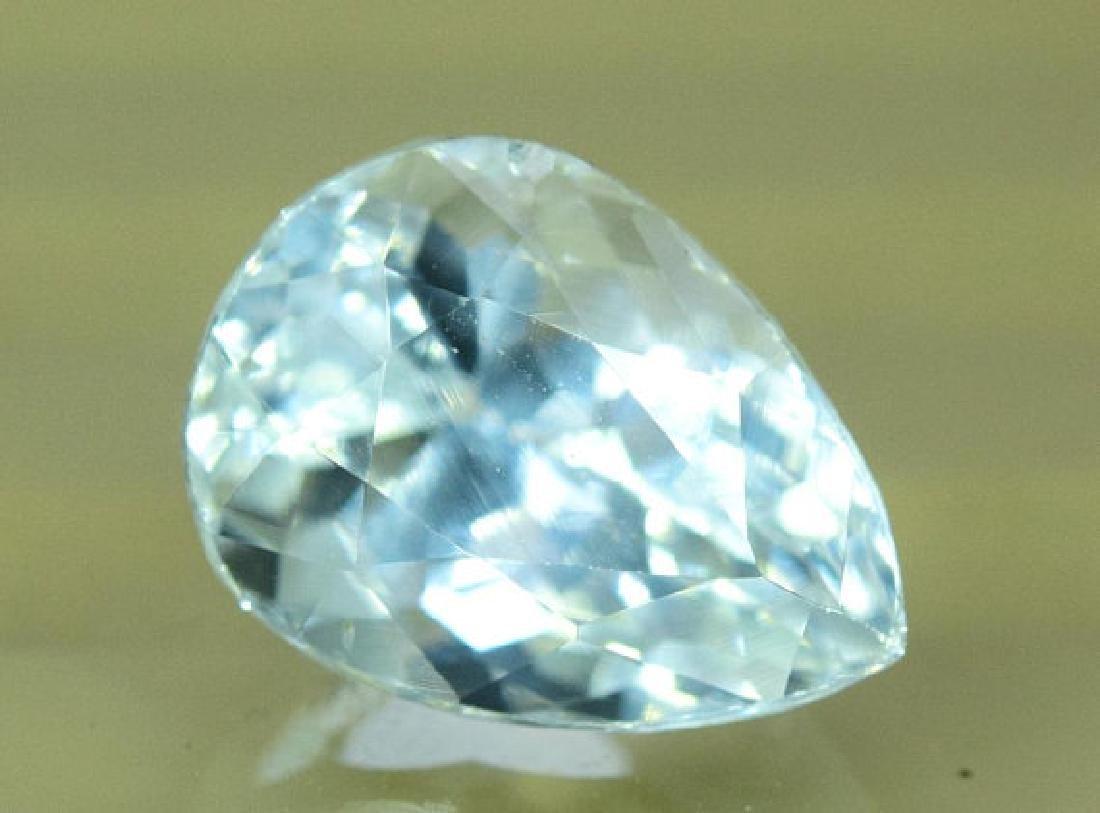 3.35 cts Untreated Aquamarine Gemstone from Pakistan - 2