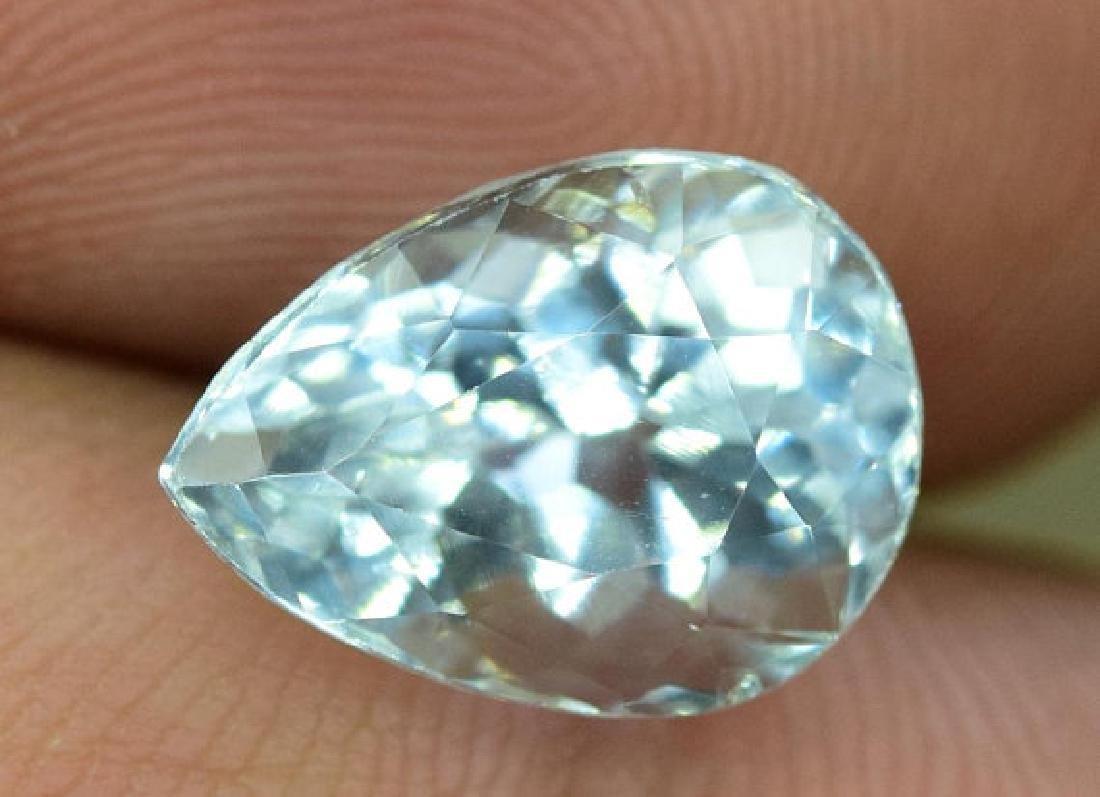 3.35 cts Untreated Aquamarine Gemstone from Pakistan - 3