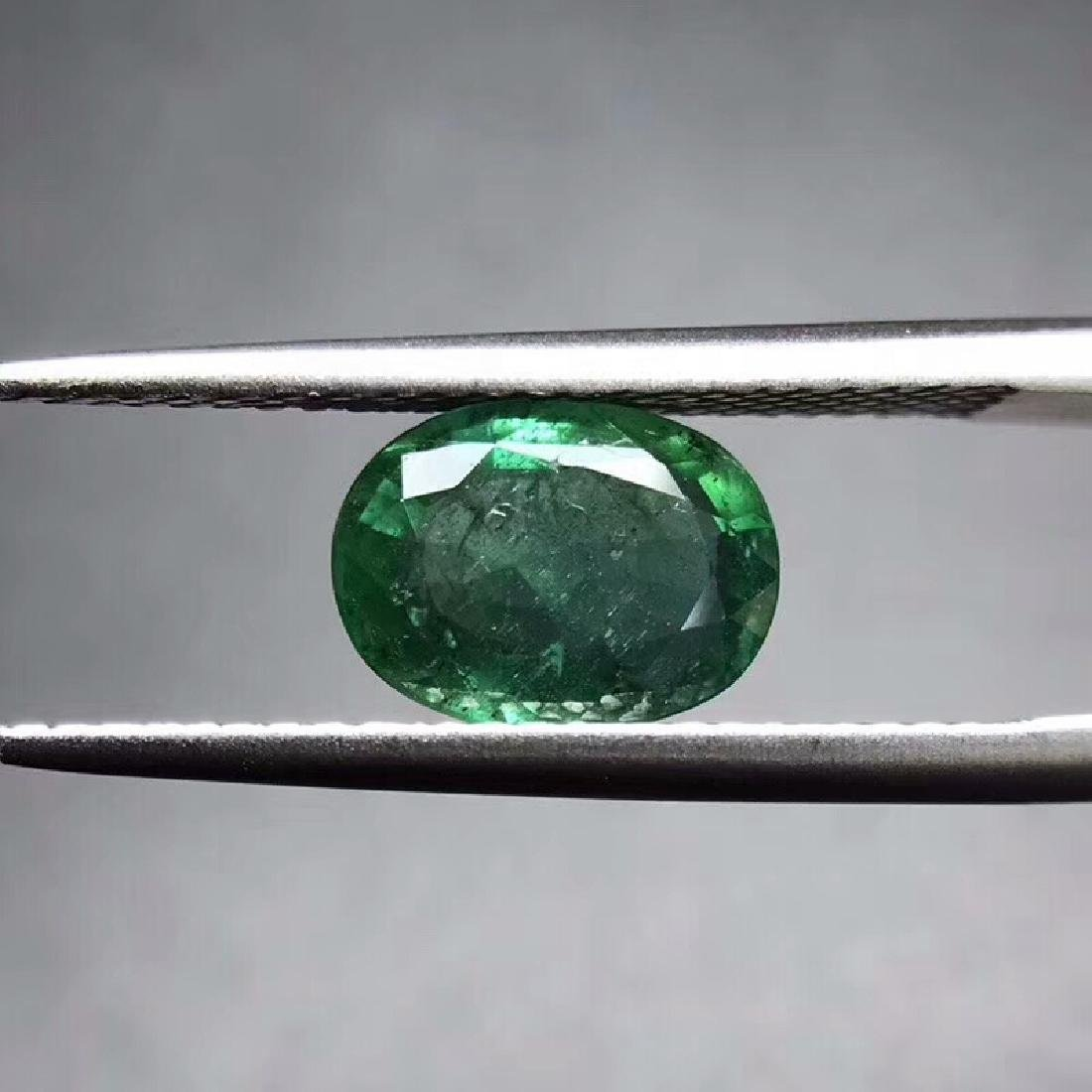 1.44 ct Emerald 8.8*6.5*3.4 mm Oval Cut
