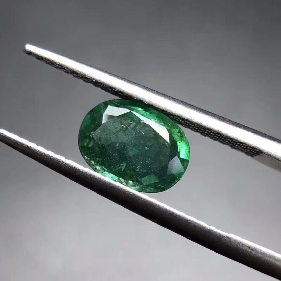 1.44 ct Emerald 8.8*6.5*3.4 mm Oval Cut - 2