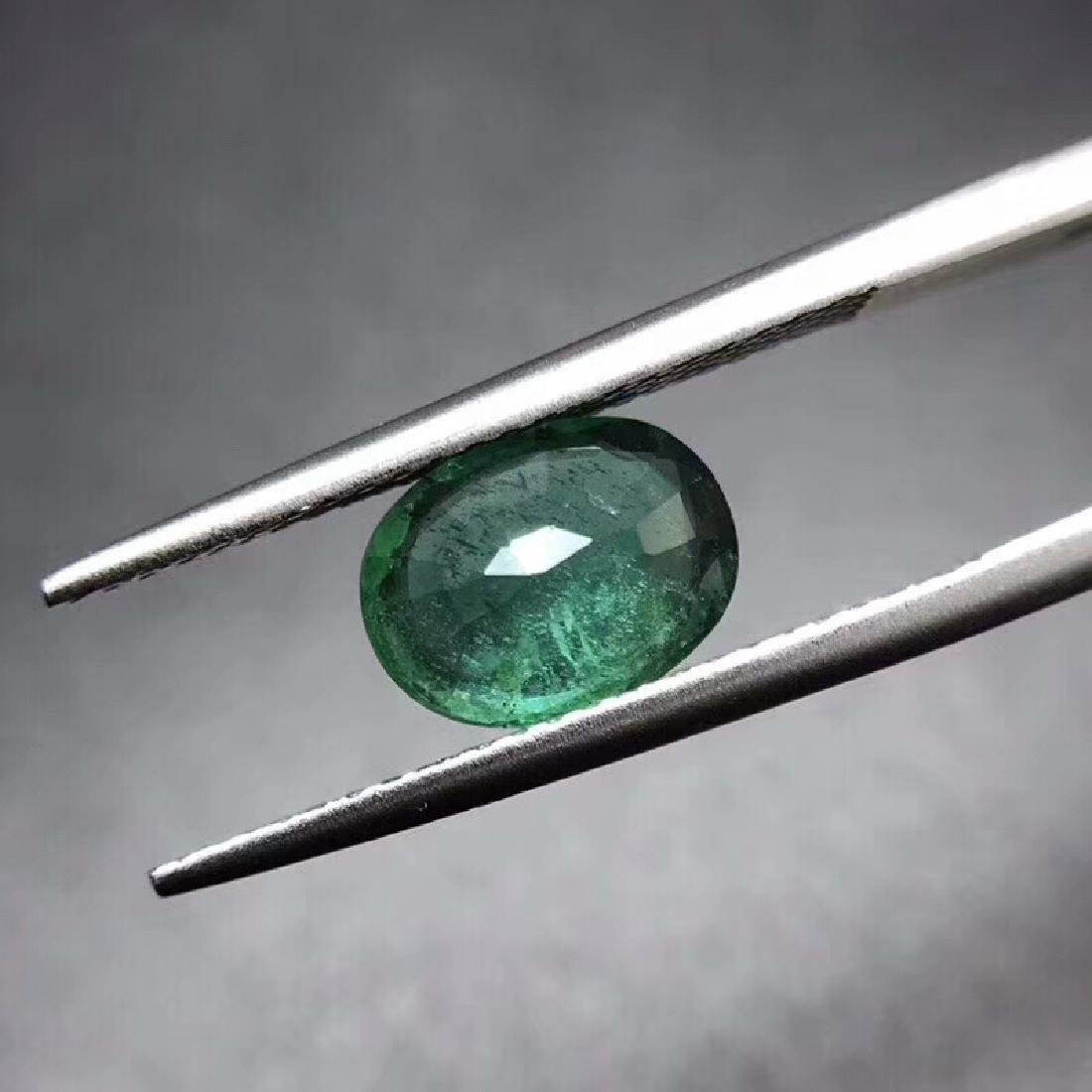 1.44 ct Emerald 8.8*6.5*3.4 mm Oval Cut - 4