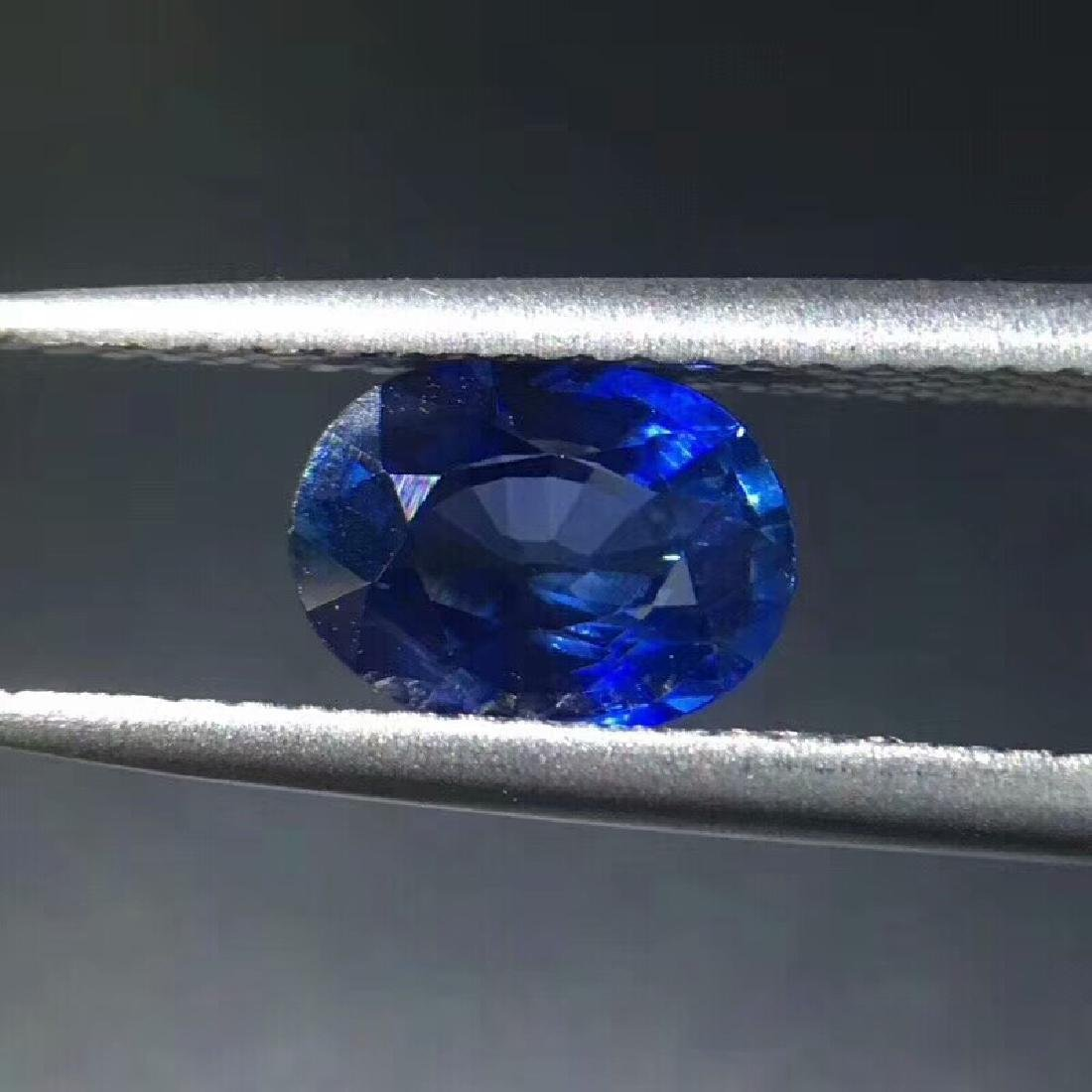 1.3 ct Sapphire 7.2*5.9*3.7 mm Oval Cut