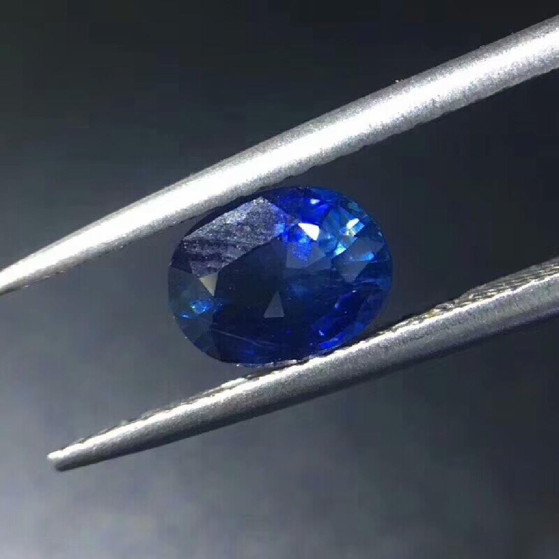 1.3 ct Sapphire 7.2*5.9*3.7 mm Oval Cut - 3
