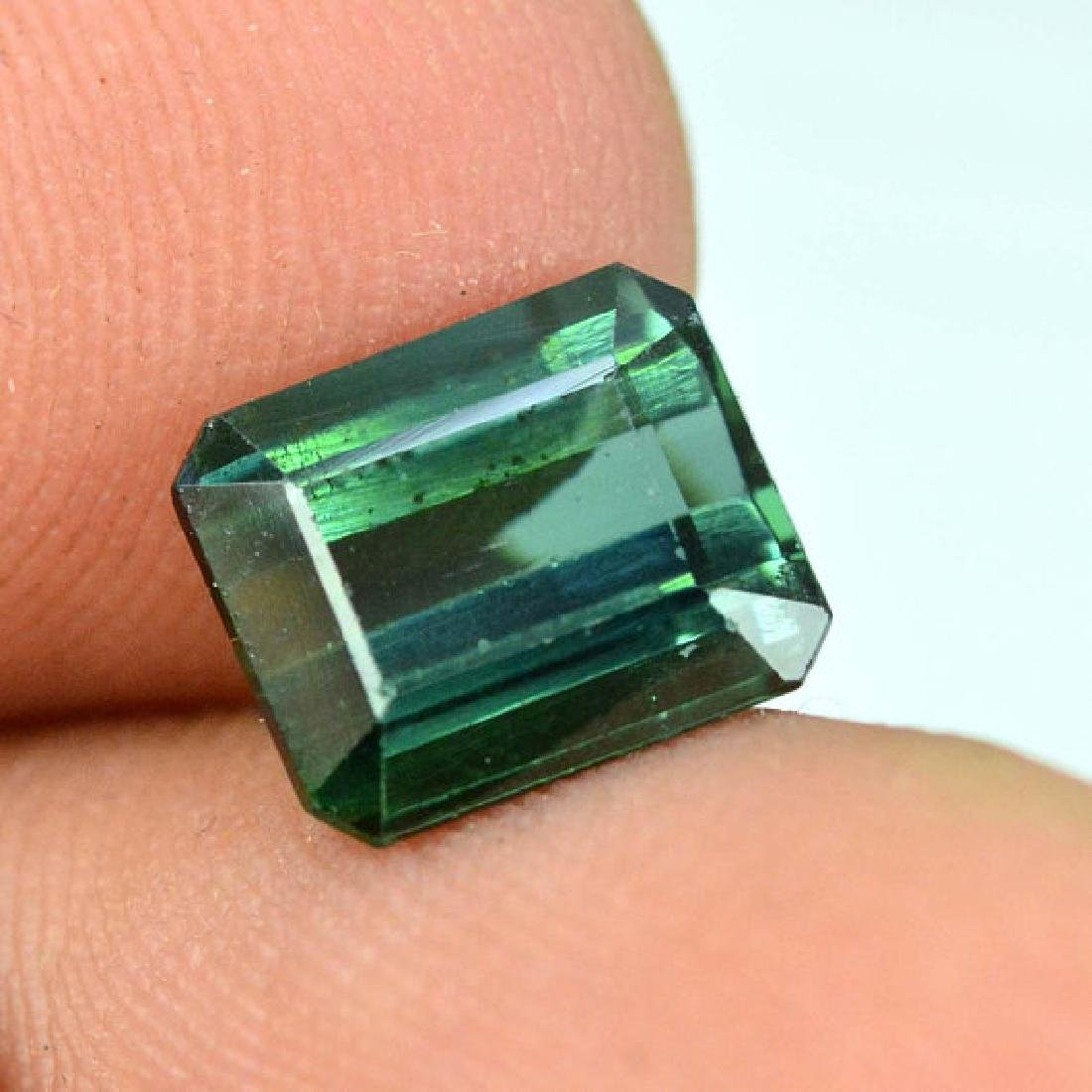 2.35 carats Untreated Green Color Tourmaline Loose - 4