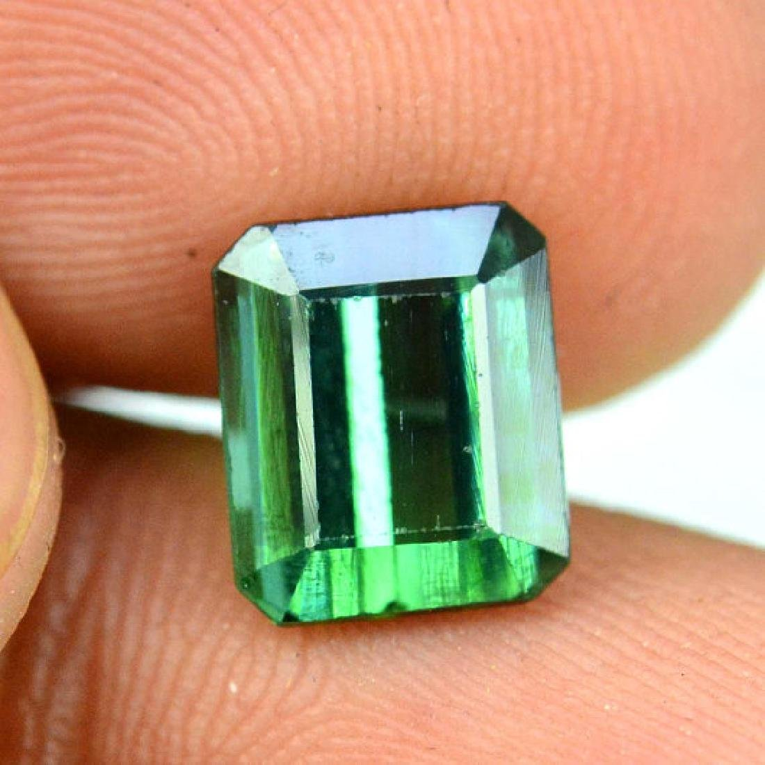 2.35 carats Untreated Green Color Tourmaline Loose - 5