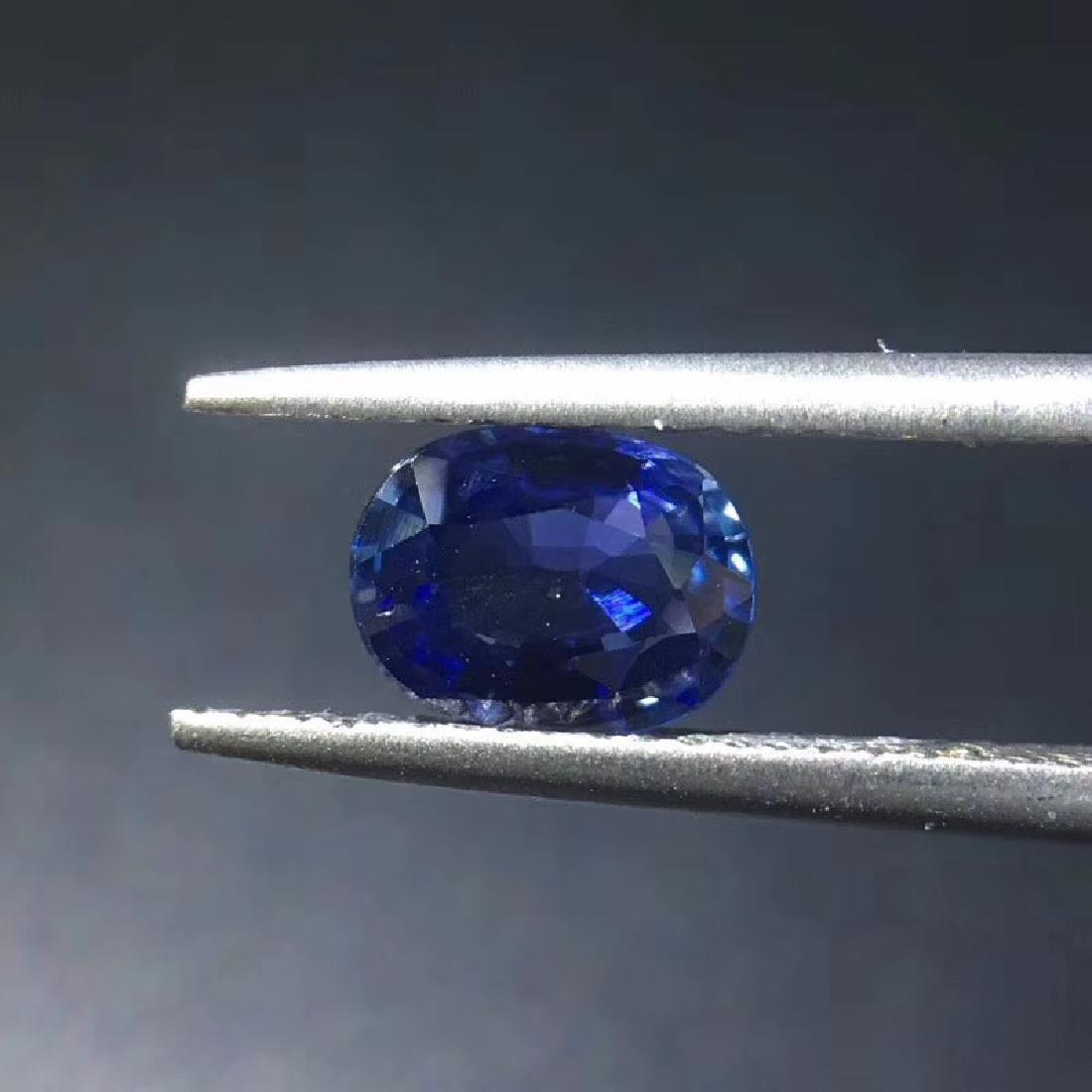 1.07 ct Sapphire 5.3*7.0*3.0 mm Oval Cut