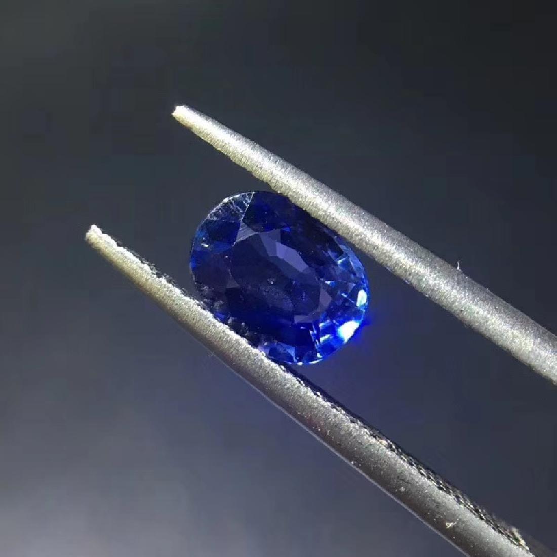 1.07 ct Sapphire 5.3*7.0*3.0 mm Oval Cut - 2