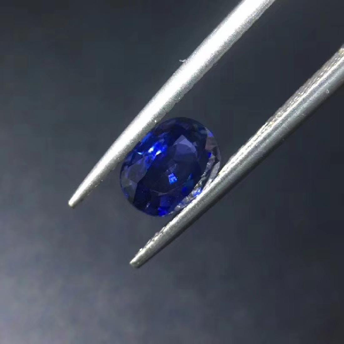 1.07 ct Sapphire 5.3*7.0*3.0 mm Oval Cut - 3