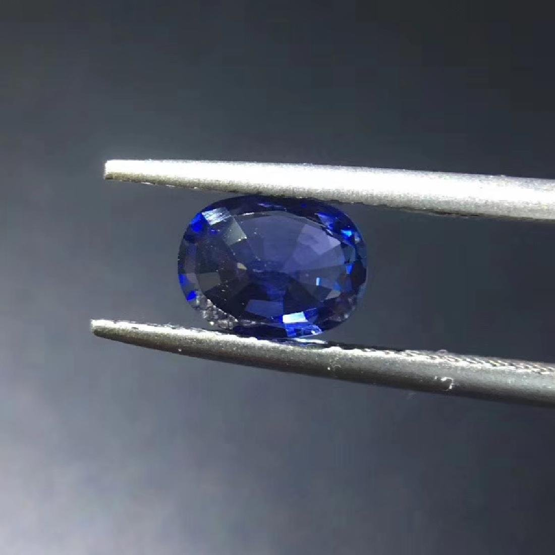 1.07 ct Sapphire 5.3*7.0*3.0 mm Oval Cut - 5