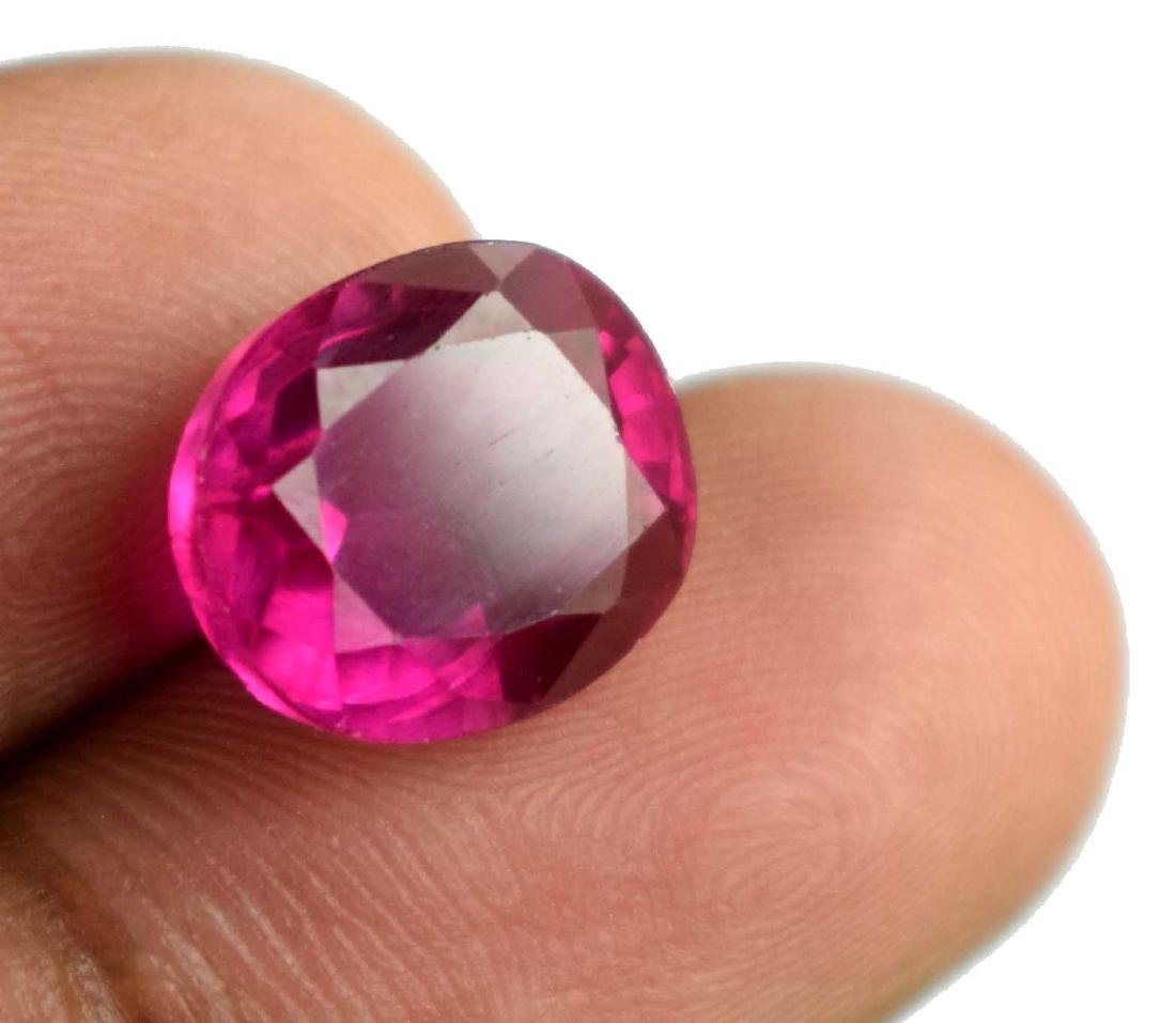 10 Ct Natural Pink Sapphire IGL Certified - 3