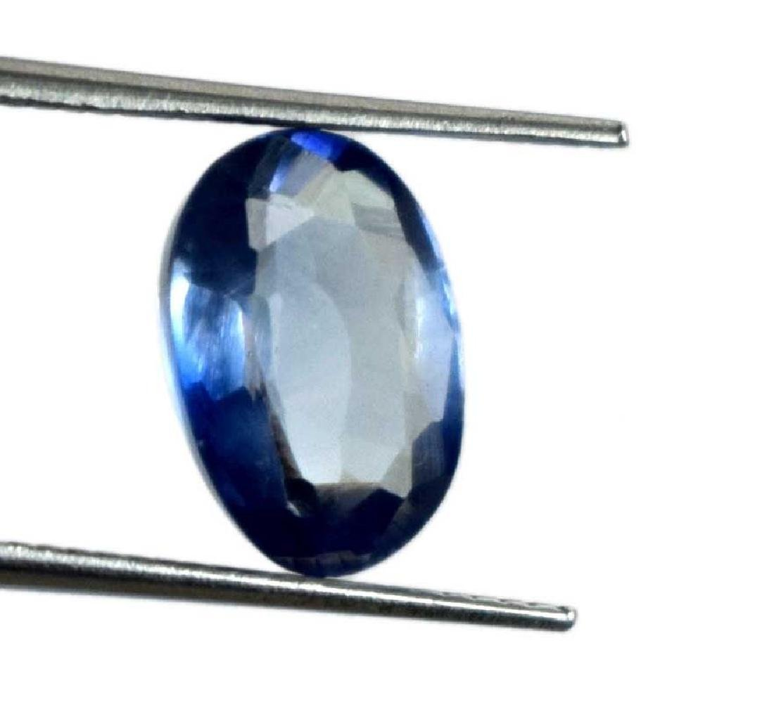2.50 Ct Natural Blue Sapphire No Reserve IGL Certified