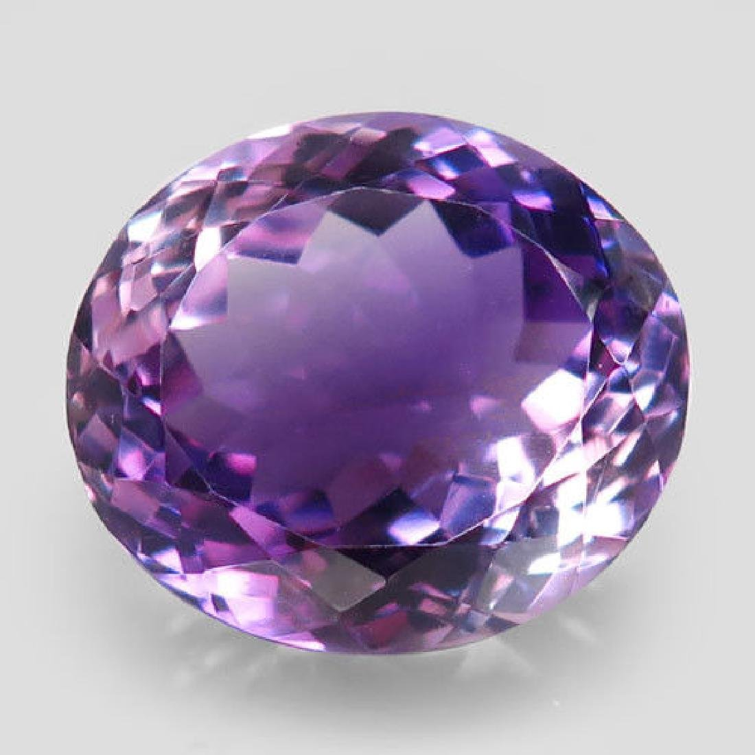 11.71ct 100%Natural Rich Purple Amethyst Unheated